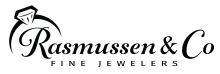 rasmussen & co fine jewelers logo