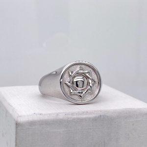 custom ring with israel symbol